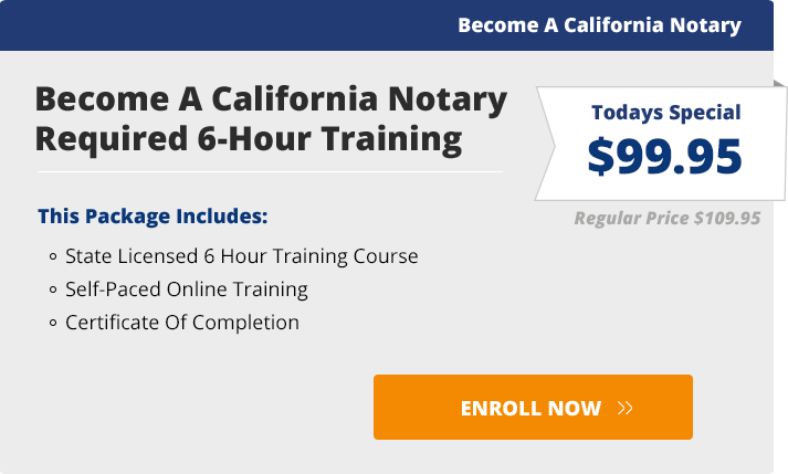 Online classes become a california notary become a notary ccuart Images